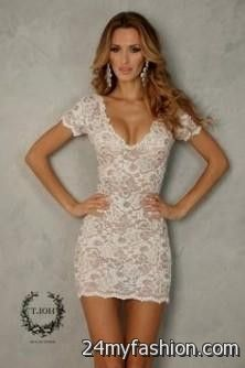 Sexy White Lace Dresses