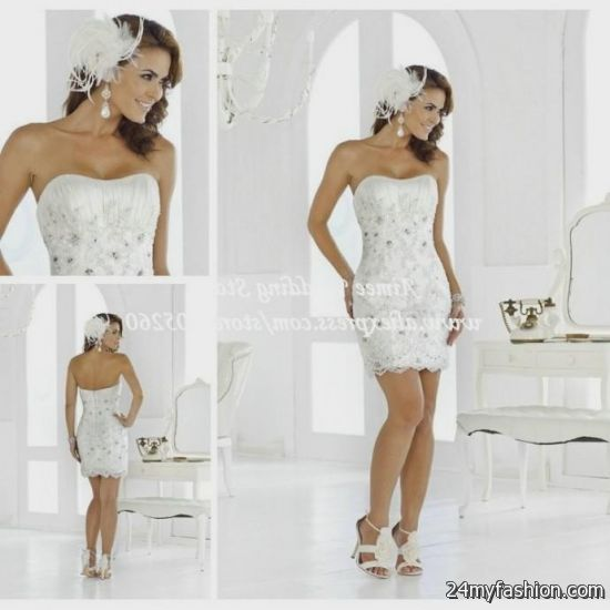 Sexy short white wedding dresses 2016 2017 b2b fashion sexy dress outlet provides a huge variety of sexy lingerie and sexy dresses at low prices you can share these sexy short white wedding junglespirit Images