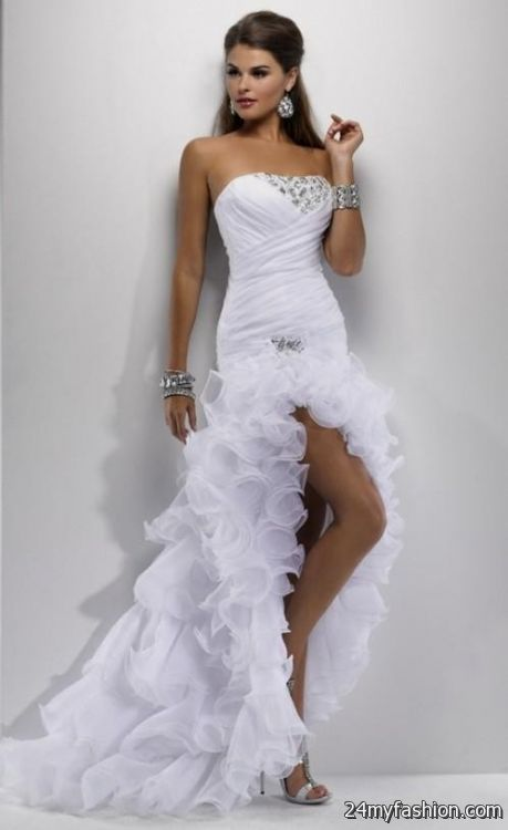 Sexy Short White Wedding Dresses 2016 2017 B2b Fashion