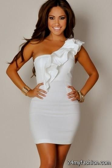 Sexy All White Party Dress