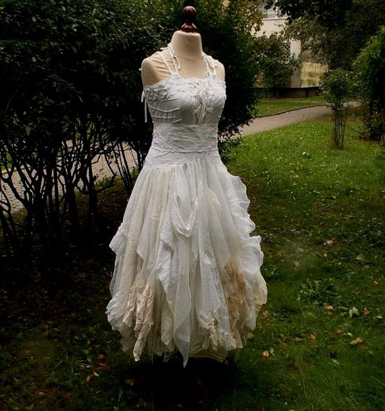 wedding photos dresses shabby chic
