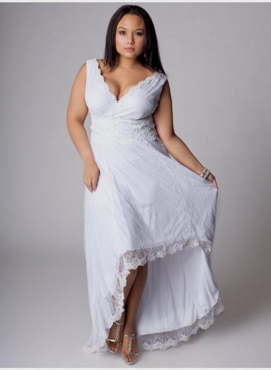 Shabby Chic Plus Size Wedding Dresses