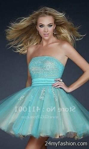 short aqua dresses for juniors 2016-2017 » B2B Fashion