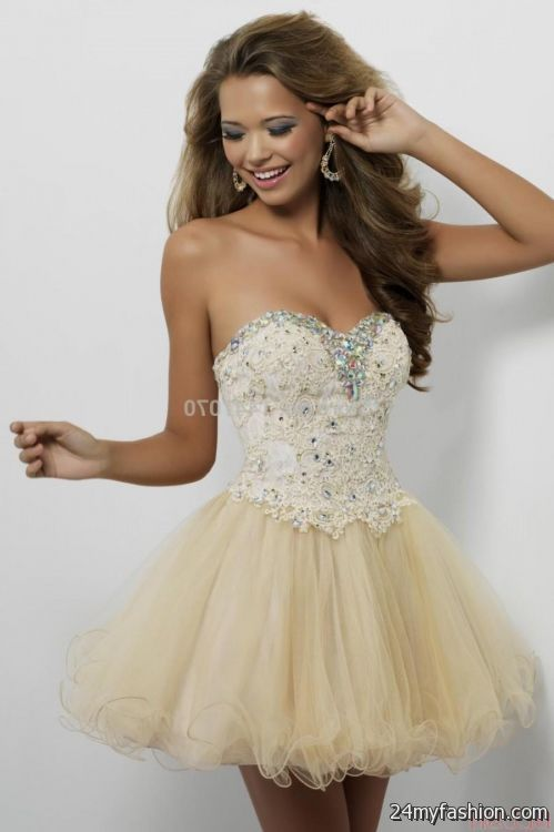 short beige prom dresses 2016-2017 » B2B Fashion