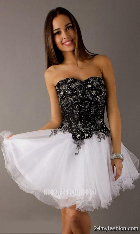 Short Corset Evening Dresses