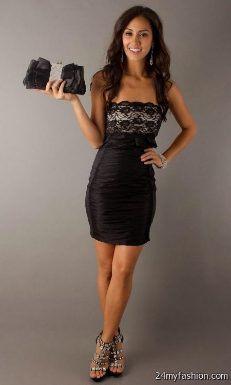 Short Black Dresses For Juniors Looks B2b Fashion