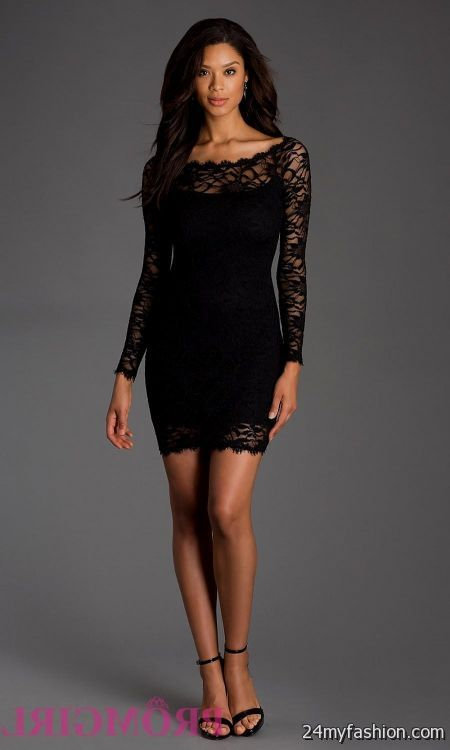 Short Black Formal Dresses For Juniors Looks B2b Fashion