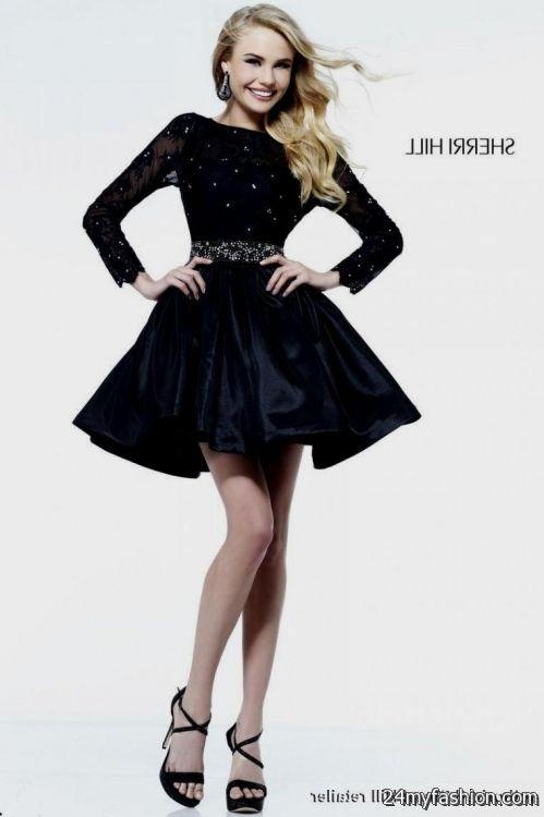 short black lace dress open back looks  e801ff6c0