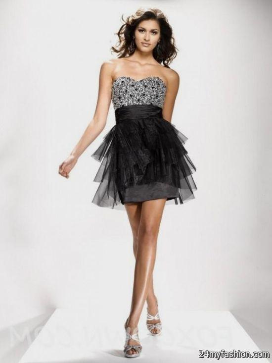short black prom dresses with straps 2016-2017 » B2B Fashion