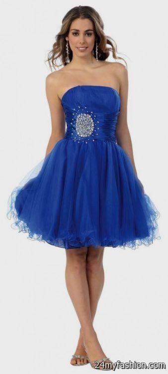 short blue formal dresses for juniors 2016-2017 » B2B Fashion