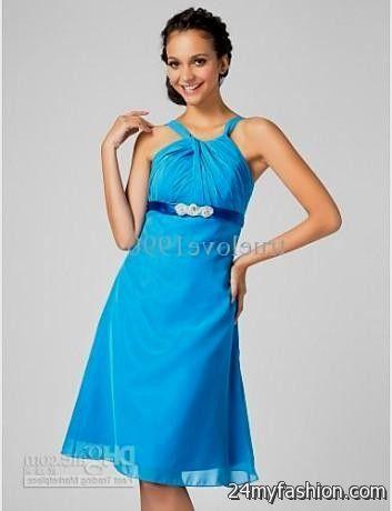 short blue party dresses for juniors 20162017 b2b fashion