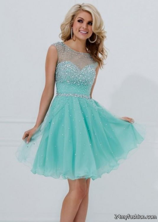 short blue prom dresses under 100 2016-2017 | B2B Fashion