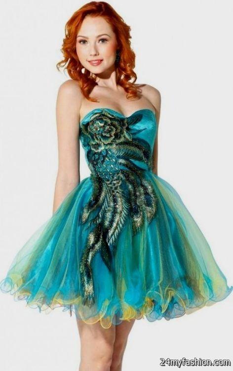 Short Blue Prom Dresses Under 100 Looks B2b Fashion