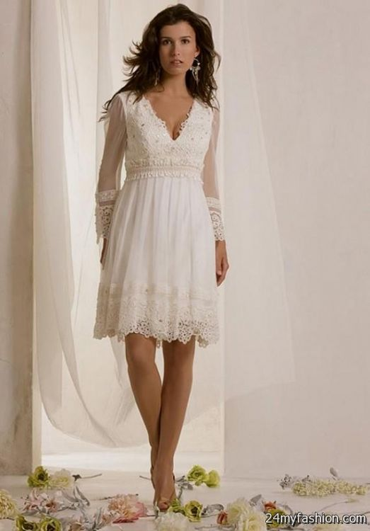 Emejing Second Wedding Dresses For Older Brides Pictures - Styles ...