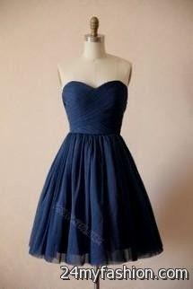 Blue Party Dress Tumblr