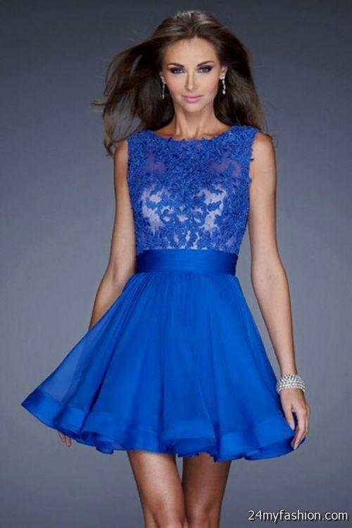 short dark blue prom dresses 2016-2017 » B2B Fashion