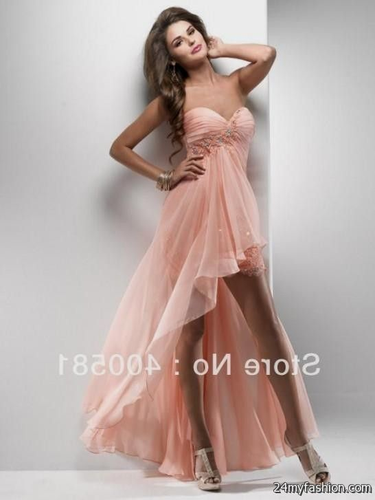 Short Flowy Prom Dresses With Sleeves   Great Ideas For Fashion ...