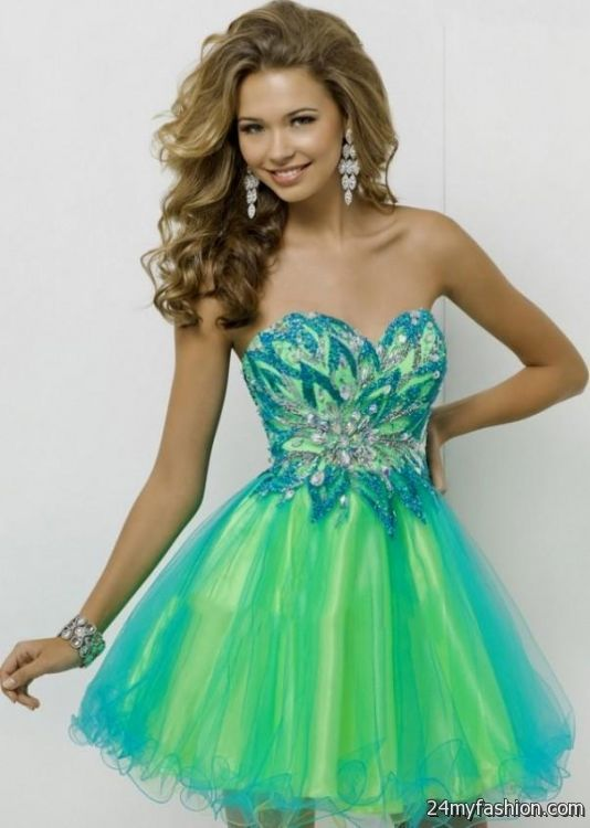 Green Homecoming Dresses Photo Album - Klarosa