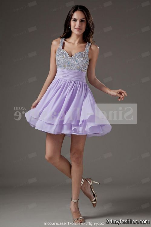 short homecoming dresses with straps 2016-2017 | B2B Fashion