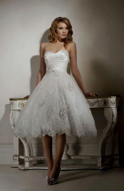 Short Poofy Wedding Dresses - Ocodea.com