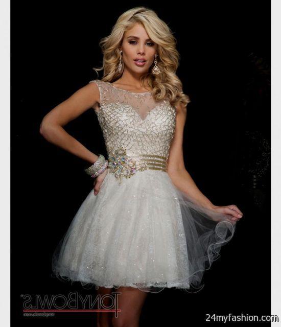 Lace Prom Dress Short - Ocodea.com