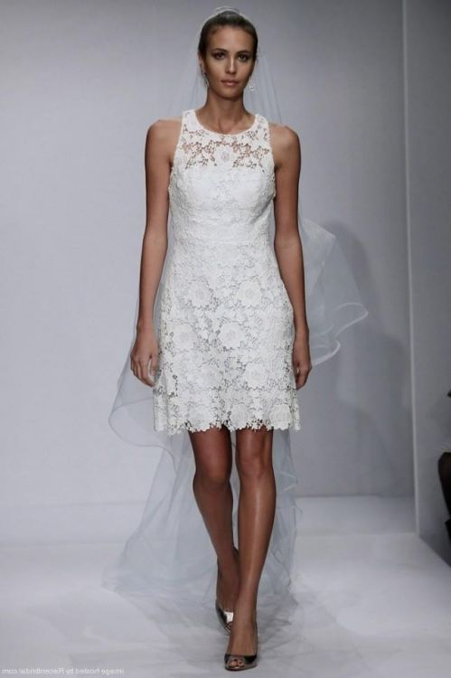 Short lace wedding dresses 2016 2017 b2b fashion short lace wedding dresses 2016 2017 junglespirit Choice Image