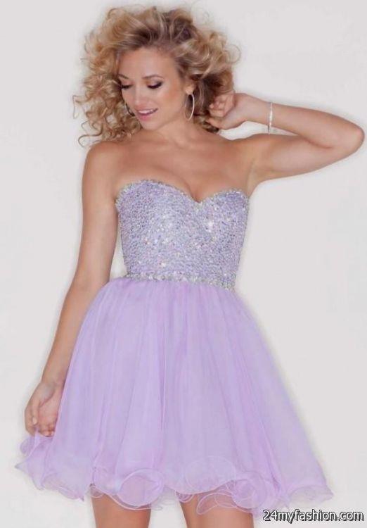 short lavender prom dress 2016-2017 » B2B Fashion