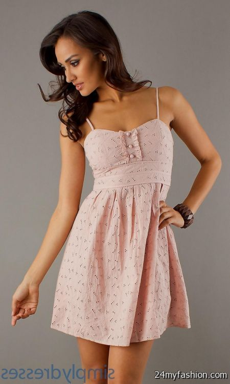 short light pink dresses for juniors 2016-2017 » B2B Fashion