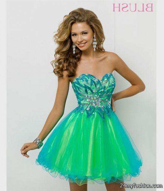 Amazing Neon Prom Dress Elaboration - Womens Dresses & Gowns ...