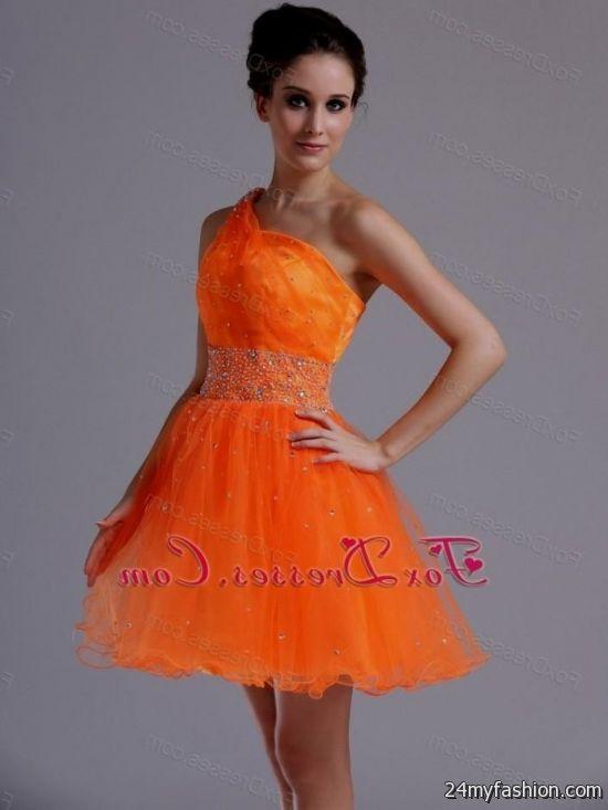 short orange prom dresses 2014 looks b2b fashion