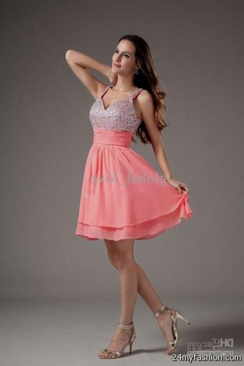 short party dresses with straps 2016-2017 | B2B Fashion