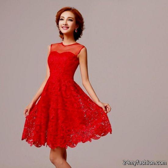 Red Bridesmaid Dresses Fun