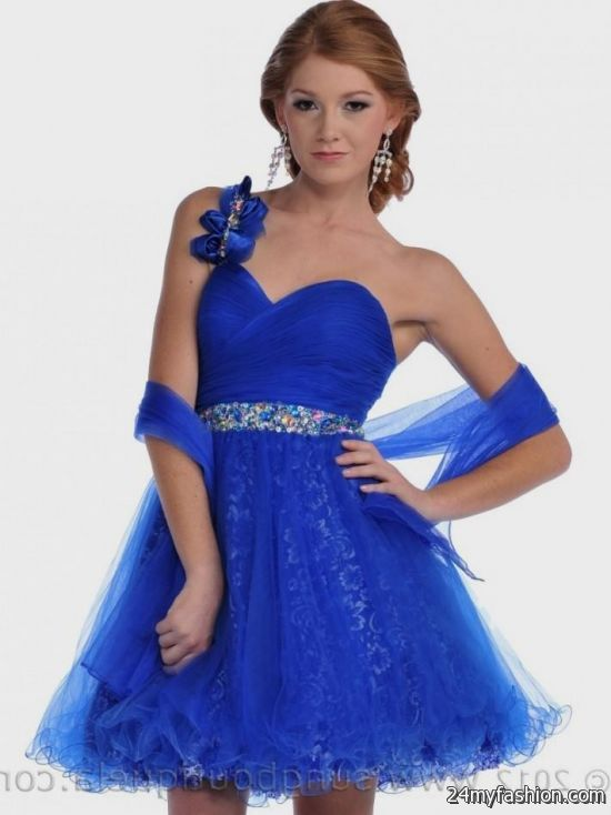 short royal blue prom dresses 2016-2017 » B2B Fashion