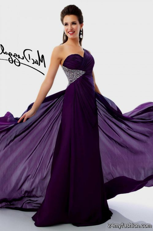 short royal purple prom dresses 2016-2017 | B2B Fashion