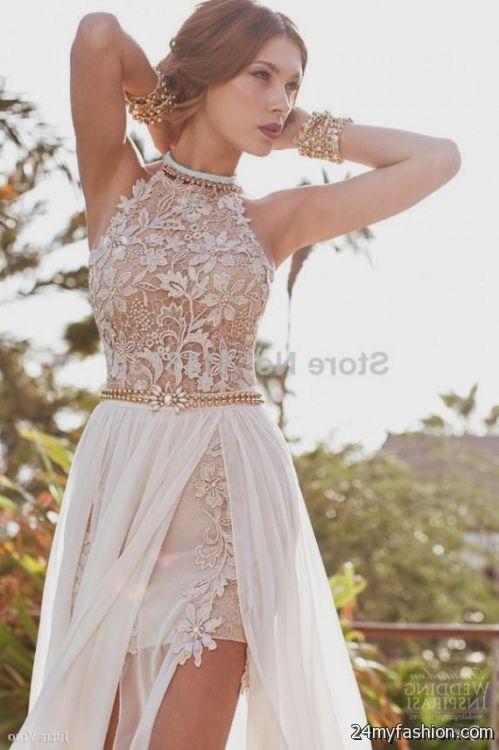 Short Sexy Lace Wedding Dresses 2016 2017 B2b Fashion