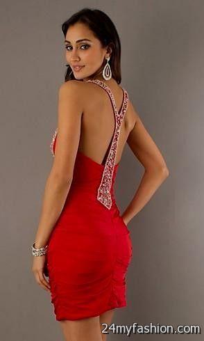 HEIDI: Sexy red holiday dress