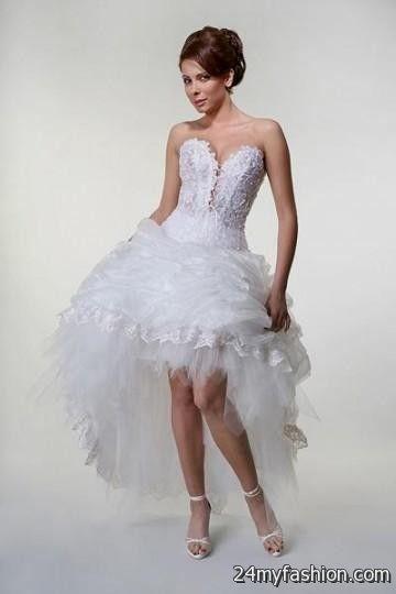 Short Sexy Wedding Dresses 2016 2017 B2b Fashion