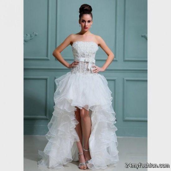 Short sexy wedding dresses 2016 2017 b2b fashion for Sexy short wedding dress