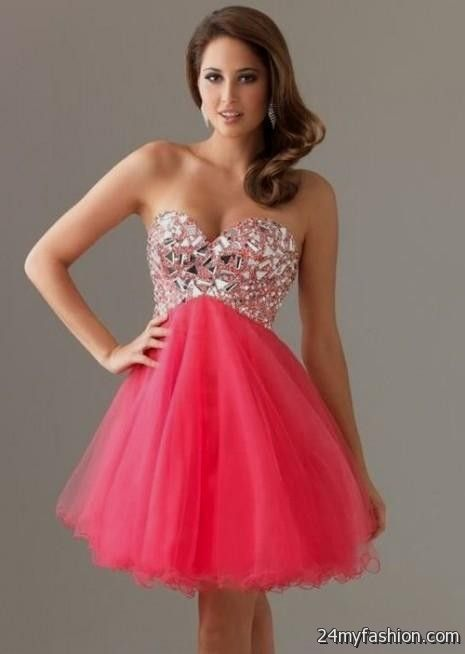 Sparkly Pink Prom Dresses - Missy Dress