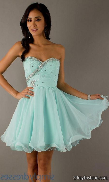 short teal summer dress 2016-2017 » B2B Fashion