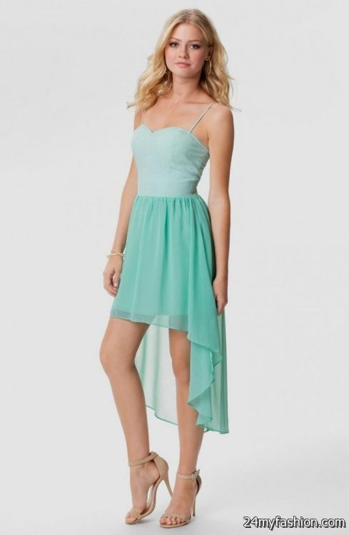 short teal summer dresses 2016-2017 » B2B Fashion