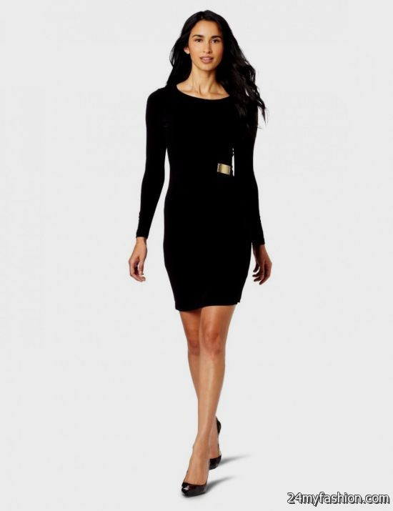 long sleeve short tight black dress � dress blog edin