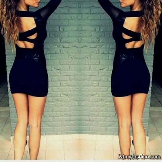short tight black dresses tumblr looks | B2B Fashion