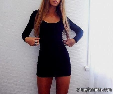 short tight black dresses tumblr 2016-2017 » B2B Fashion