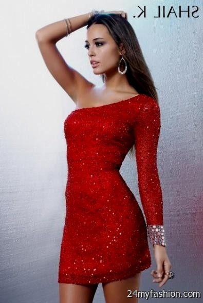 Short Tight Red Prom Dresses Looks B2b Fashion