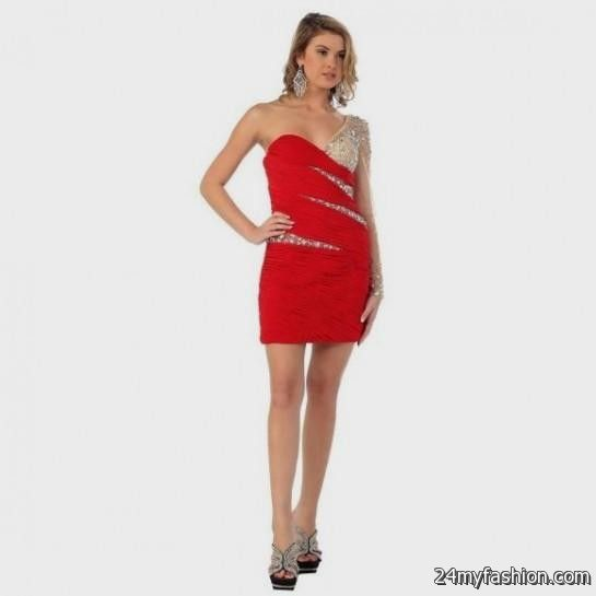 1476f95560 You can share these short tight red prom dresses on Facebook