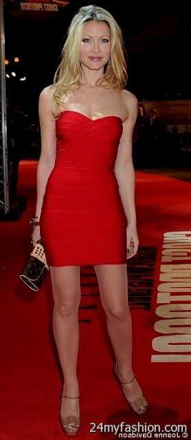 short tight red strapless dress 2016-2017 » B2B Fashion