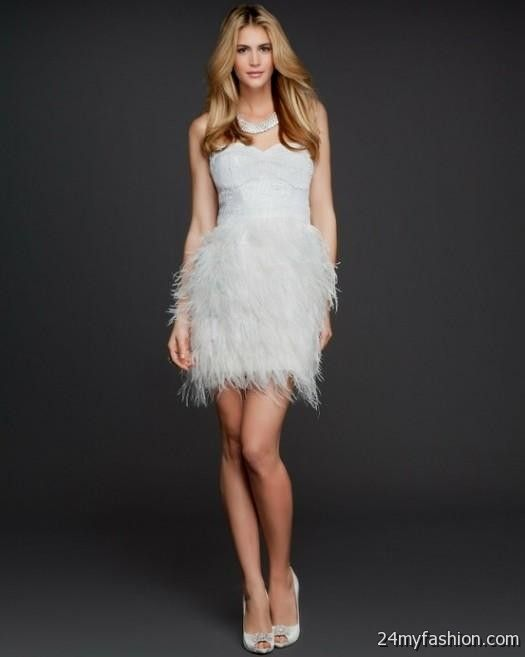 Prom Dresses With Feathers 2018 53
