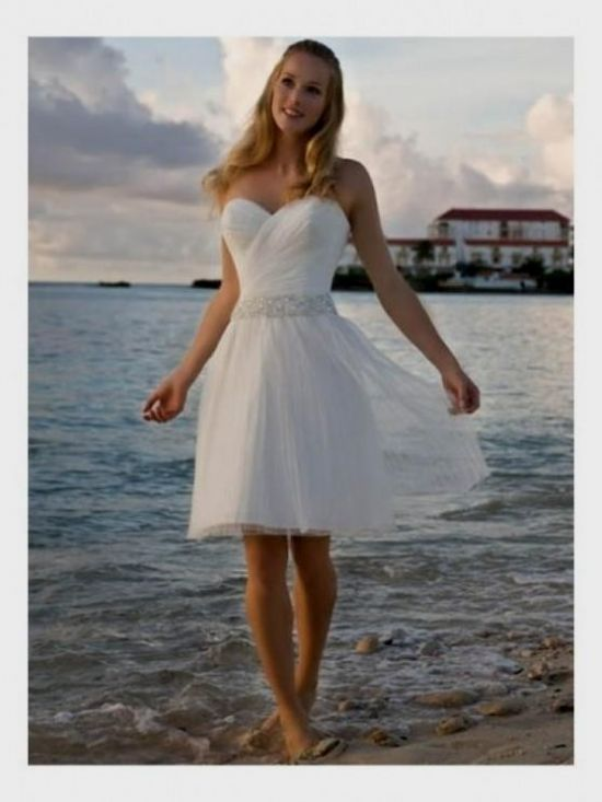 Short White Country Wedding Dresses 2016 2017
