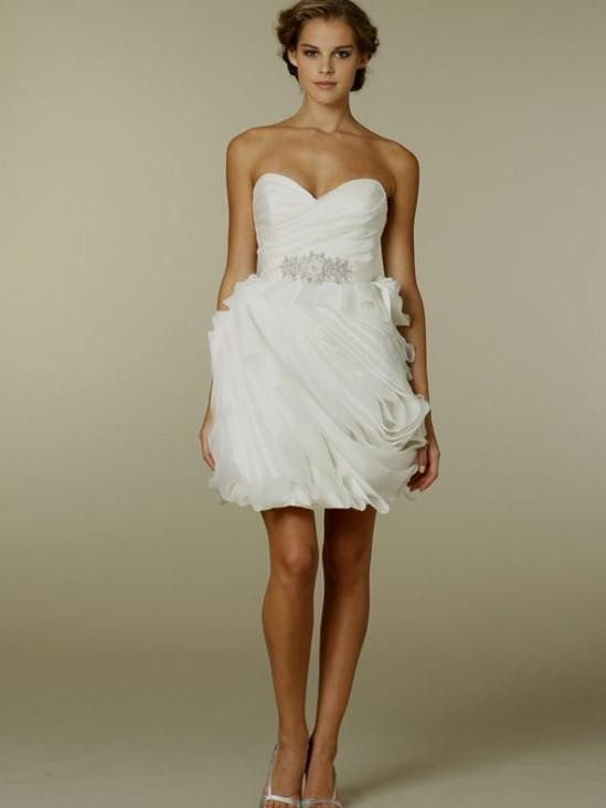 White Country Wedding Dresses 9